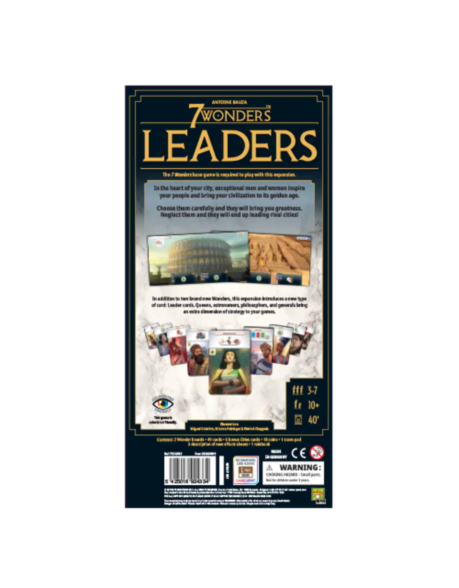 Repos 7 Wonders 2E: Leaders Expansion