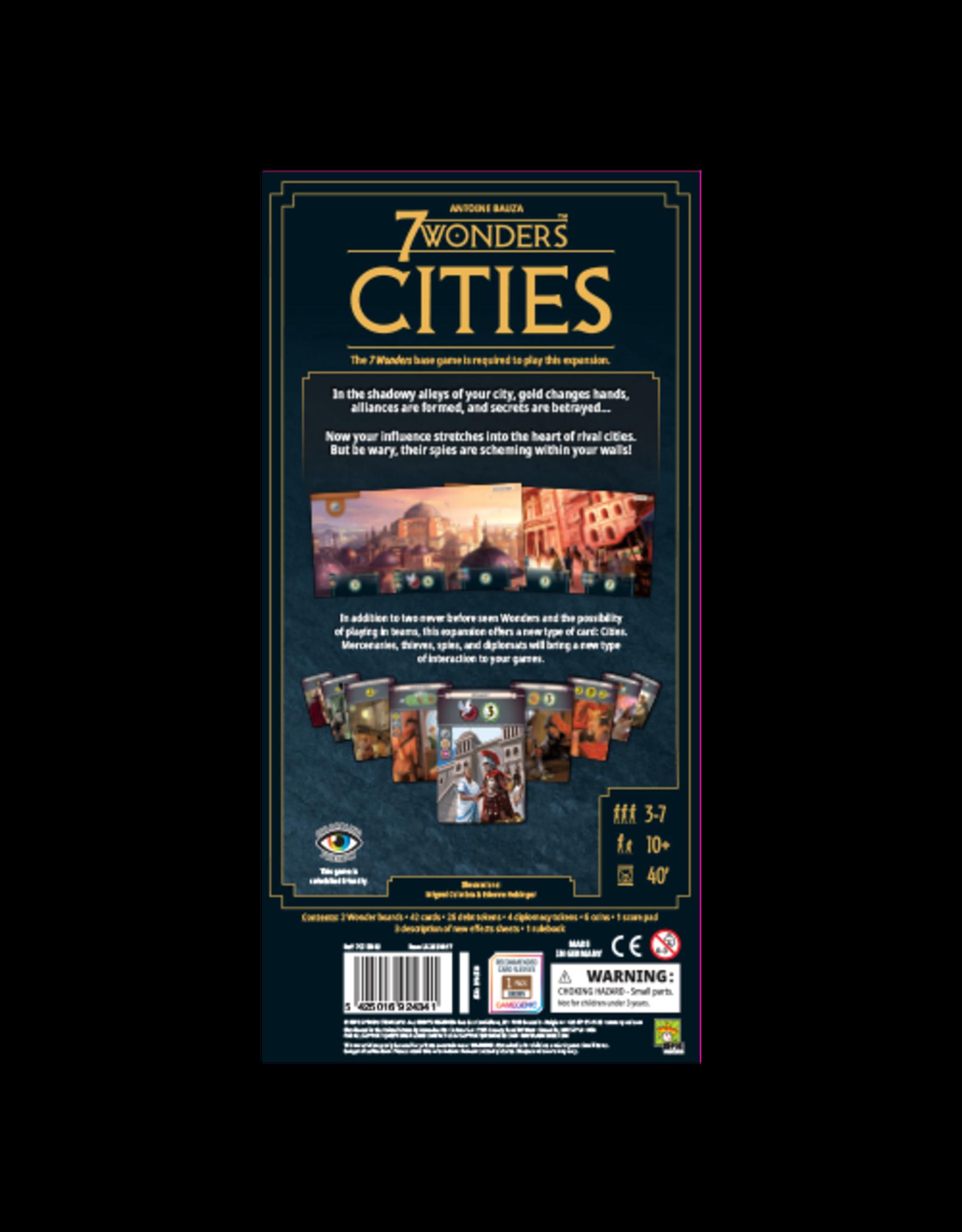 Repos 7 Wonders 2E: Cities Expansion