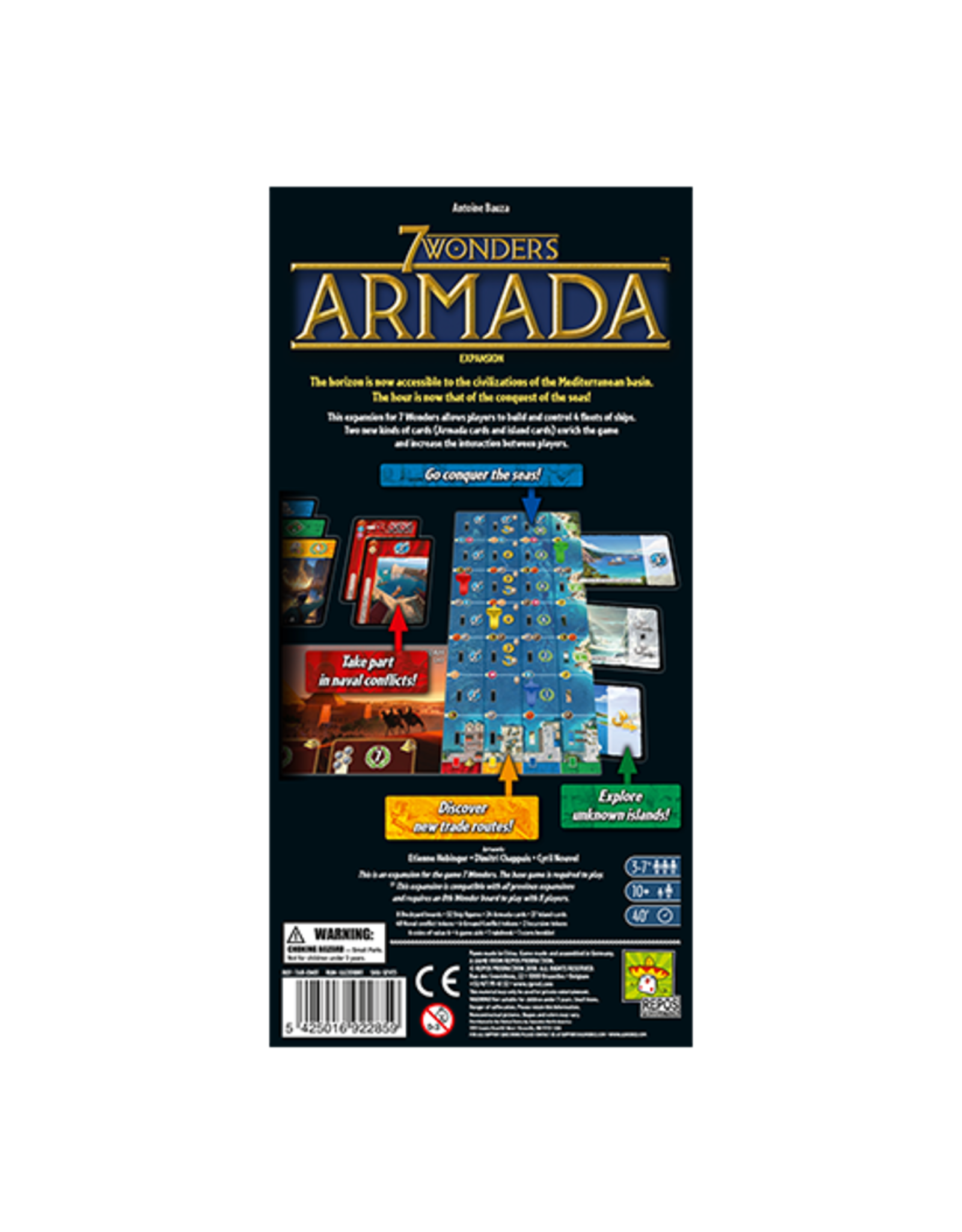 Repos 7 Wonders 1E: Armada Expansion