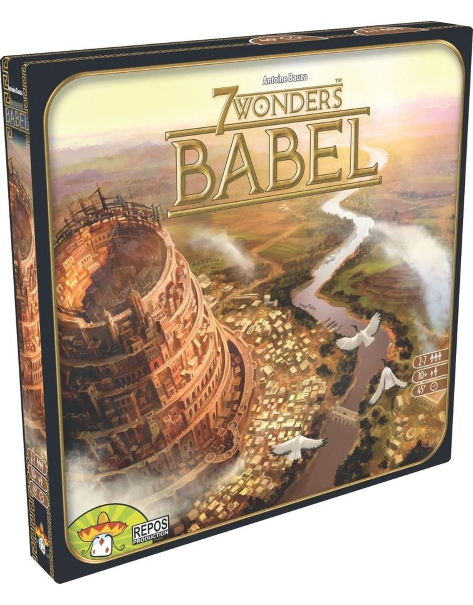 Repos 7 Wonders 1E: Babel Expansion