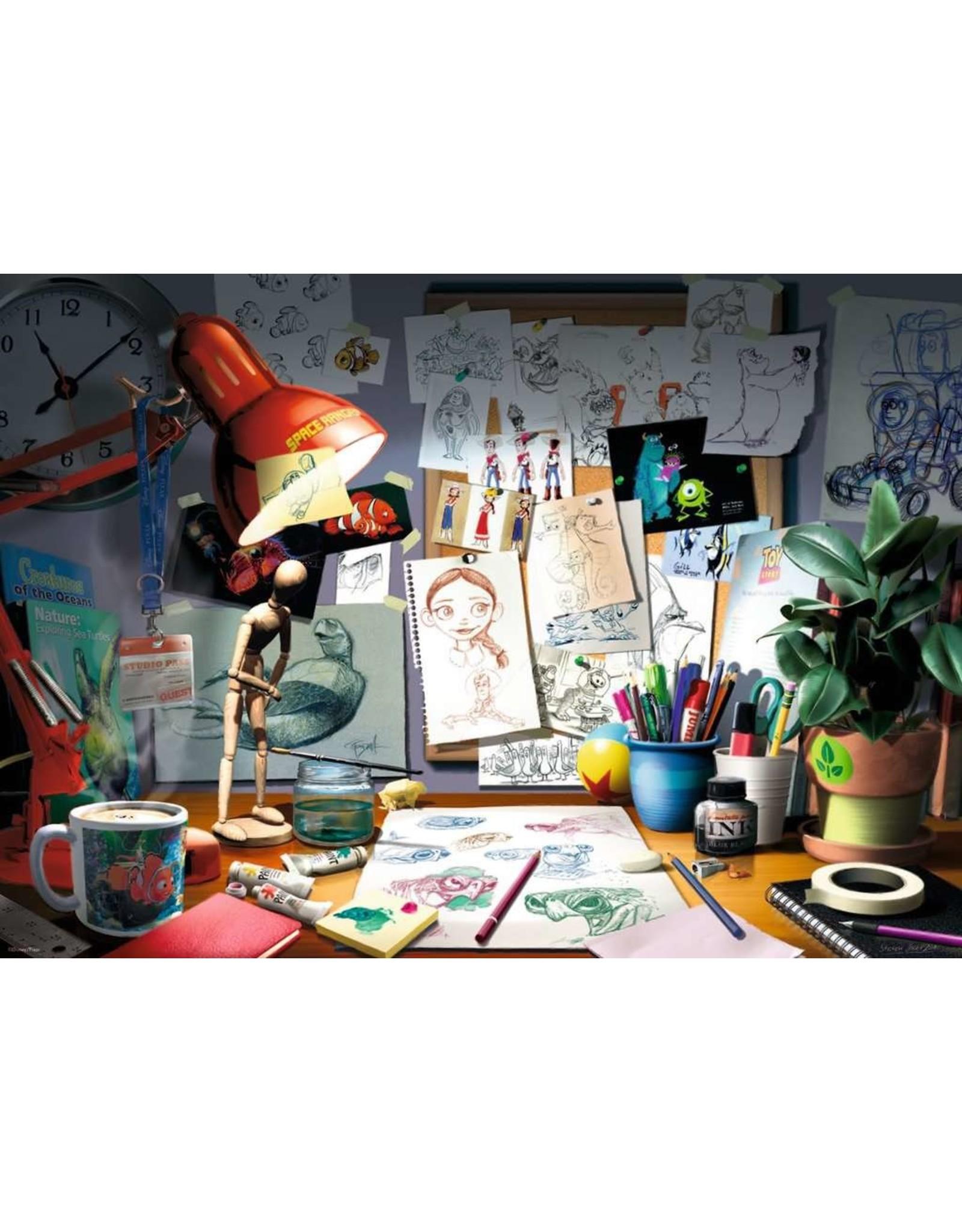 """Ravensburger """"The Artist's Desk"""" 1000 Piece Puzzle"""
