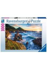 """Ravensburger """"Big Sur Sunset"""" 1000 Piece Puzzle"""