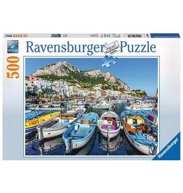 "Ravensburger ""Colorful Marina"" 500 Piece Puzzle"