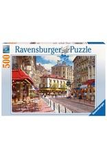 """Ravensburger """"Quaint Shops"""" 500 Piece Puzzle"""
