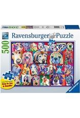 "Ravensburger ""Hello Doggie"" 500 Piece Puzzle"