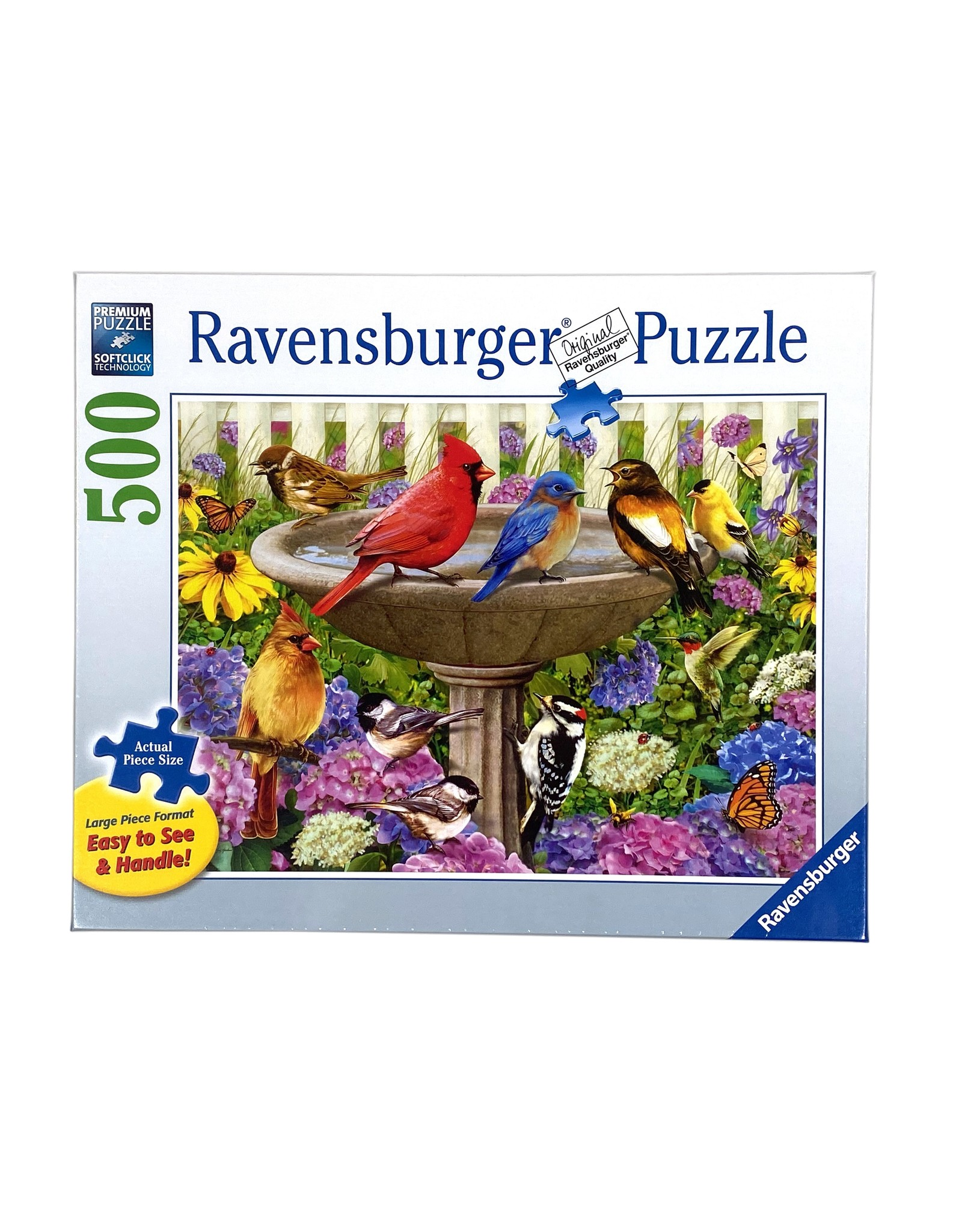 "Ravensburger ""At the Birdbath"" 500 Piece Puzzle"