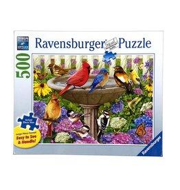 "Ravensburger ""At the Birdbath"" 500 Piece Puzzle"