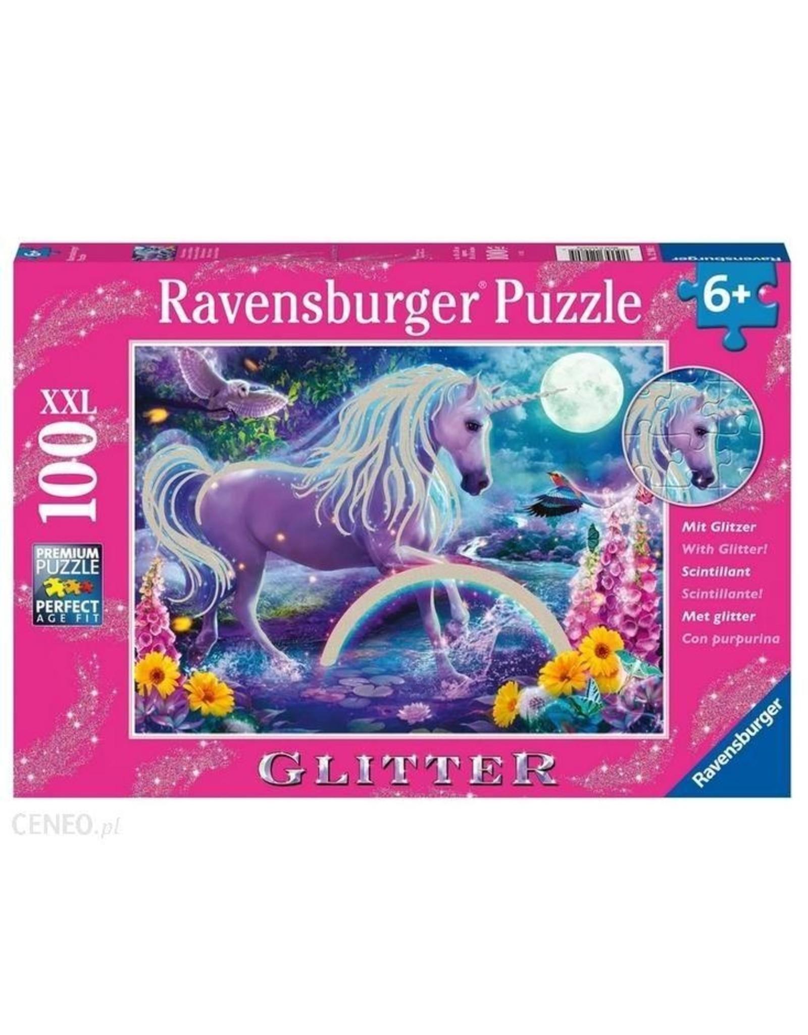 "Ravensburger ""Glitter Unicorn"" 100 Piece Puzzle"