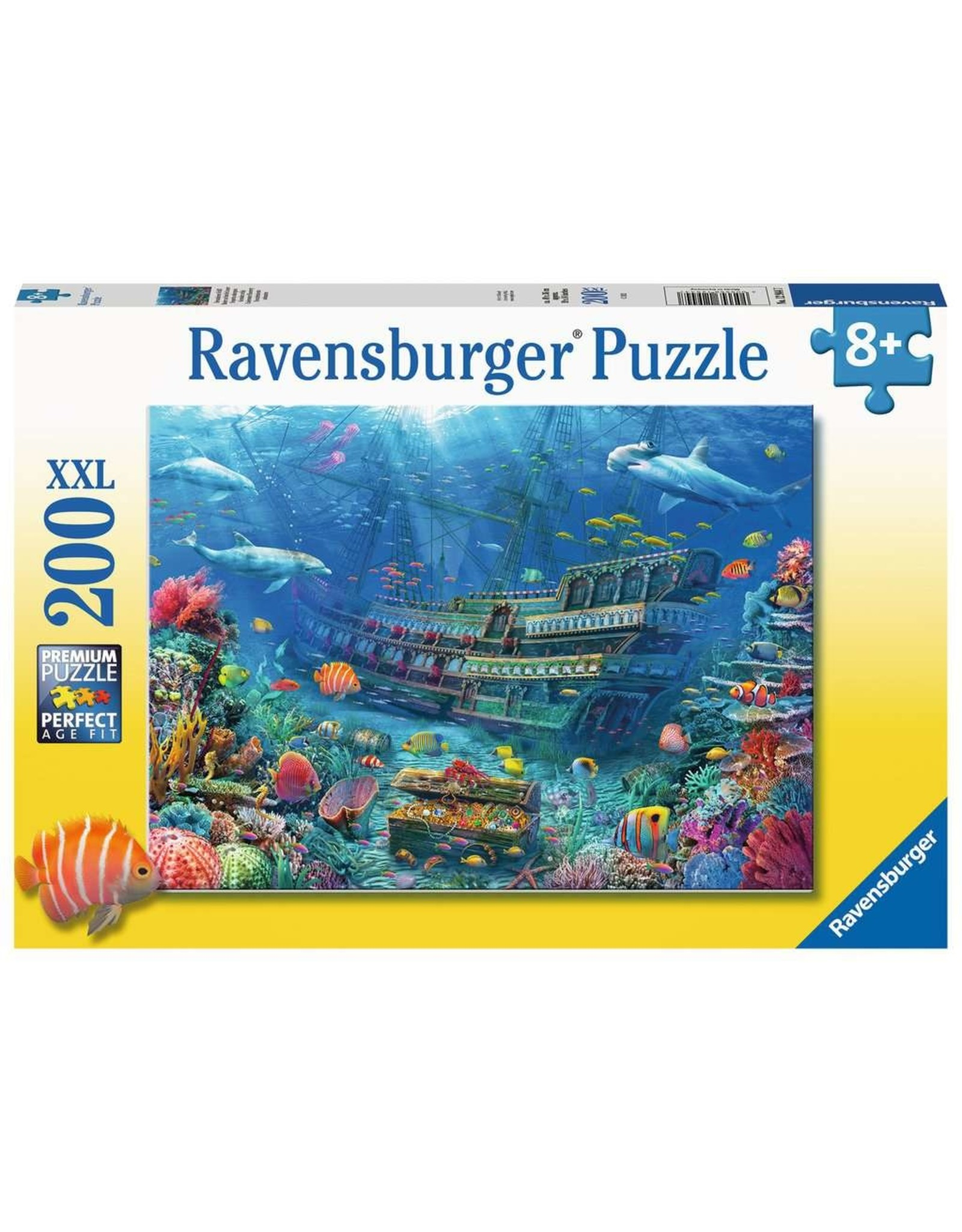 """Ravensburger """"Underwater Discovery"""" 200 Piece Puzzle"""