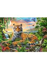 "Ravensburger ""Tiger at Sunset"" 300 Piece Puzzle"