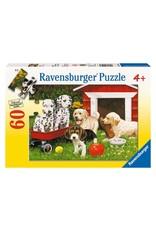 "Ravensburger ""Puppy Party"" 60 Piece Puzzle"