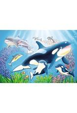 "Ravensburger ""Vibrance Under the Sea"" 2 X 24 Piece Puzzles"