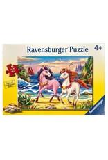 "Ravensburger ""Beach Unicorns"" 35 Piece Puzzle"