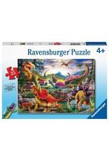 """Ravensburger """"T-Rex Terror"""" 35 Piece Puzzle"""