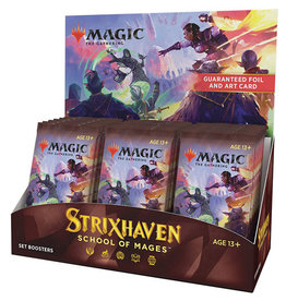 Wizards of the Coast Preorder:  MtG Strixhaven SET Booster Box