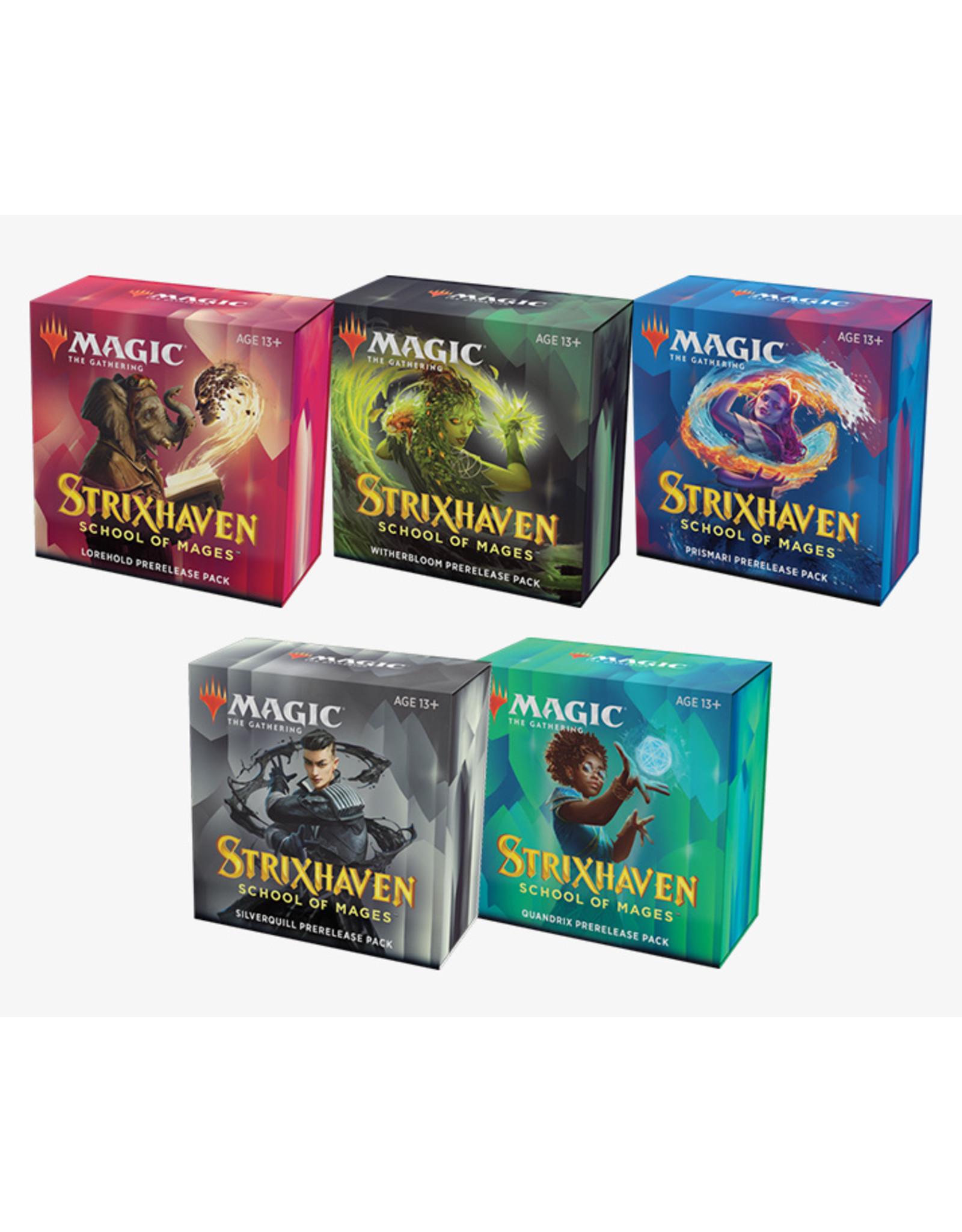 Wizards of the Coast MtG Strixhaven Pre-release