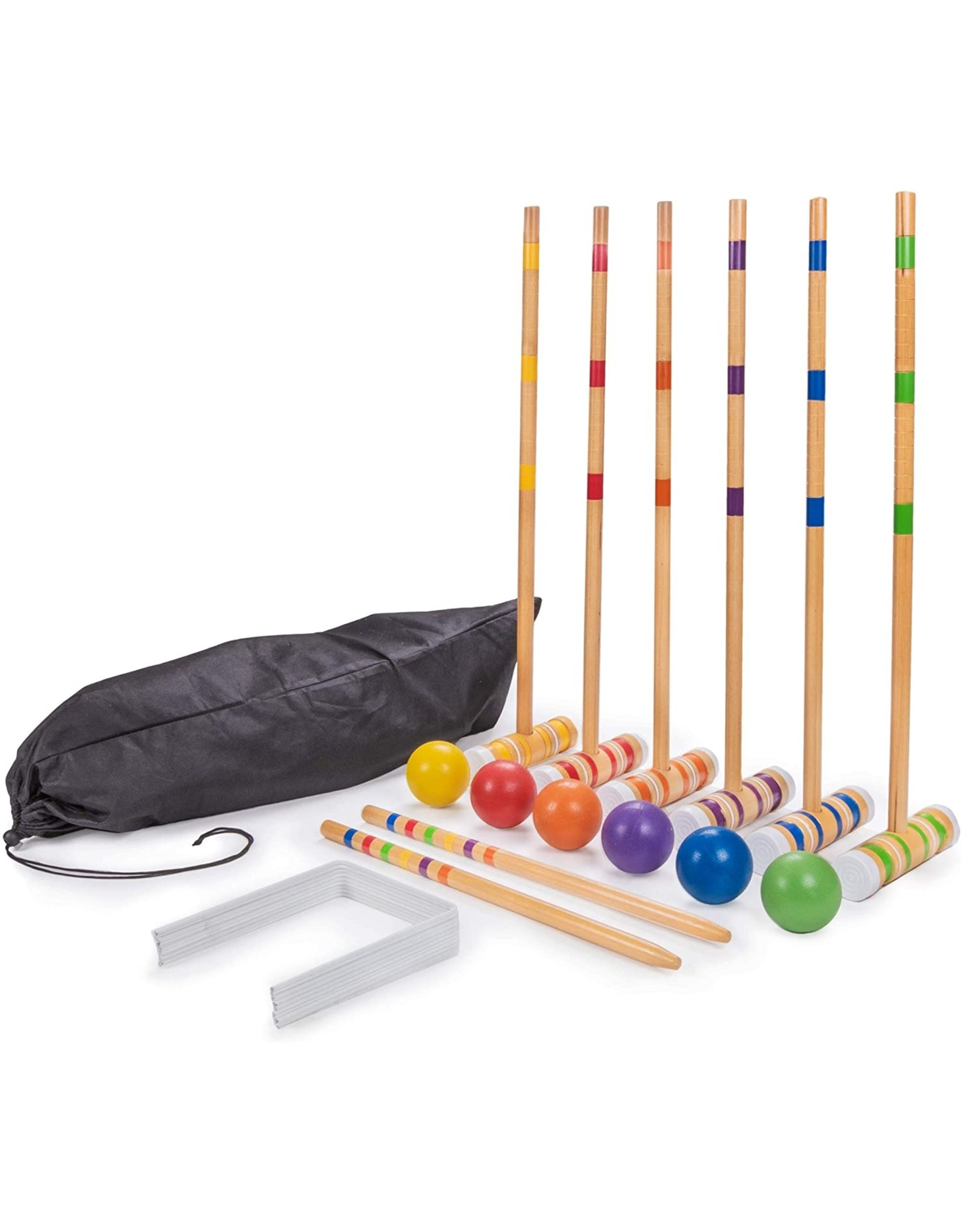 Crown Sporting Goods Family Croquet Set