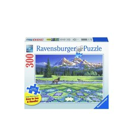 "Ravensburger ""Mountain Quiltscape"" 300 Piece Puzzle"