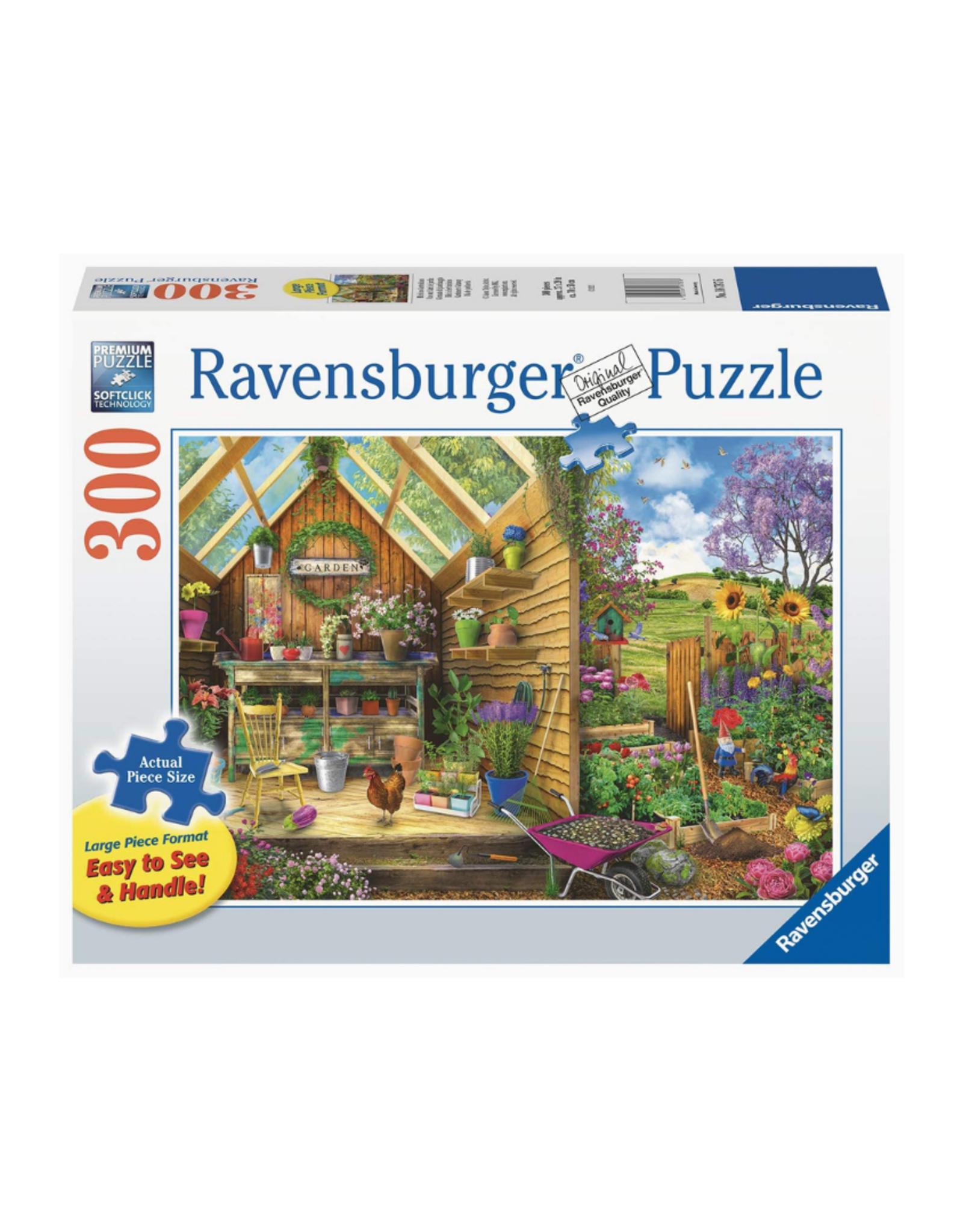 """Ravensburger """"Gardener's Getaway"""" 300 Piece Puzzle"""