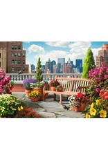 "Ravensburger ""Rooftop Garden"" 500 Piece Puzzle"