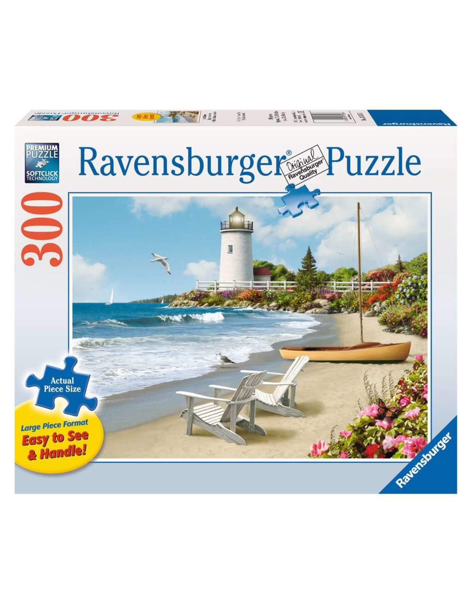 """Ravensburger """"Sunlit Shores"""" 300 Piece Puzzle"""