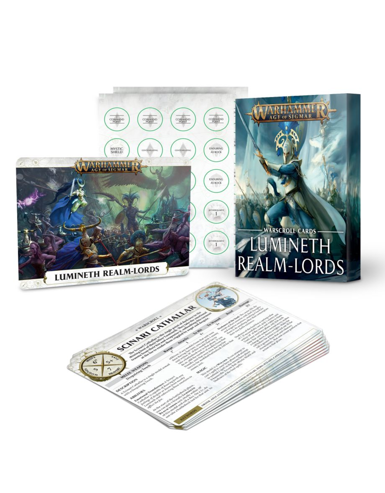 Games Workshop Warscrolls: Lumineth Realm-Lords