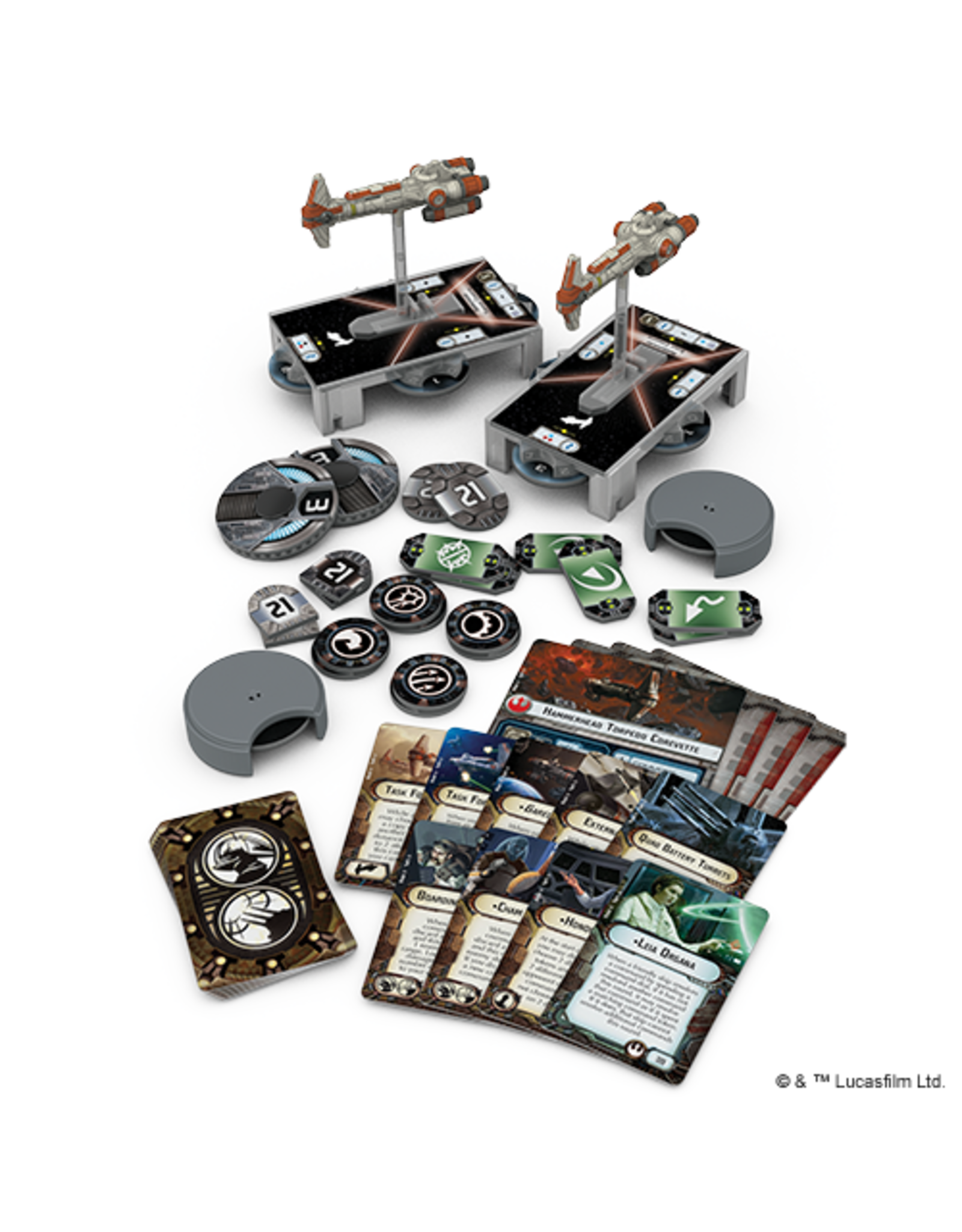 Fantasy Flight Games Star Wars Armada: Rebel Hammerhead Corvettes