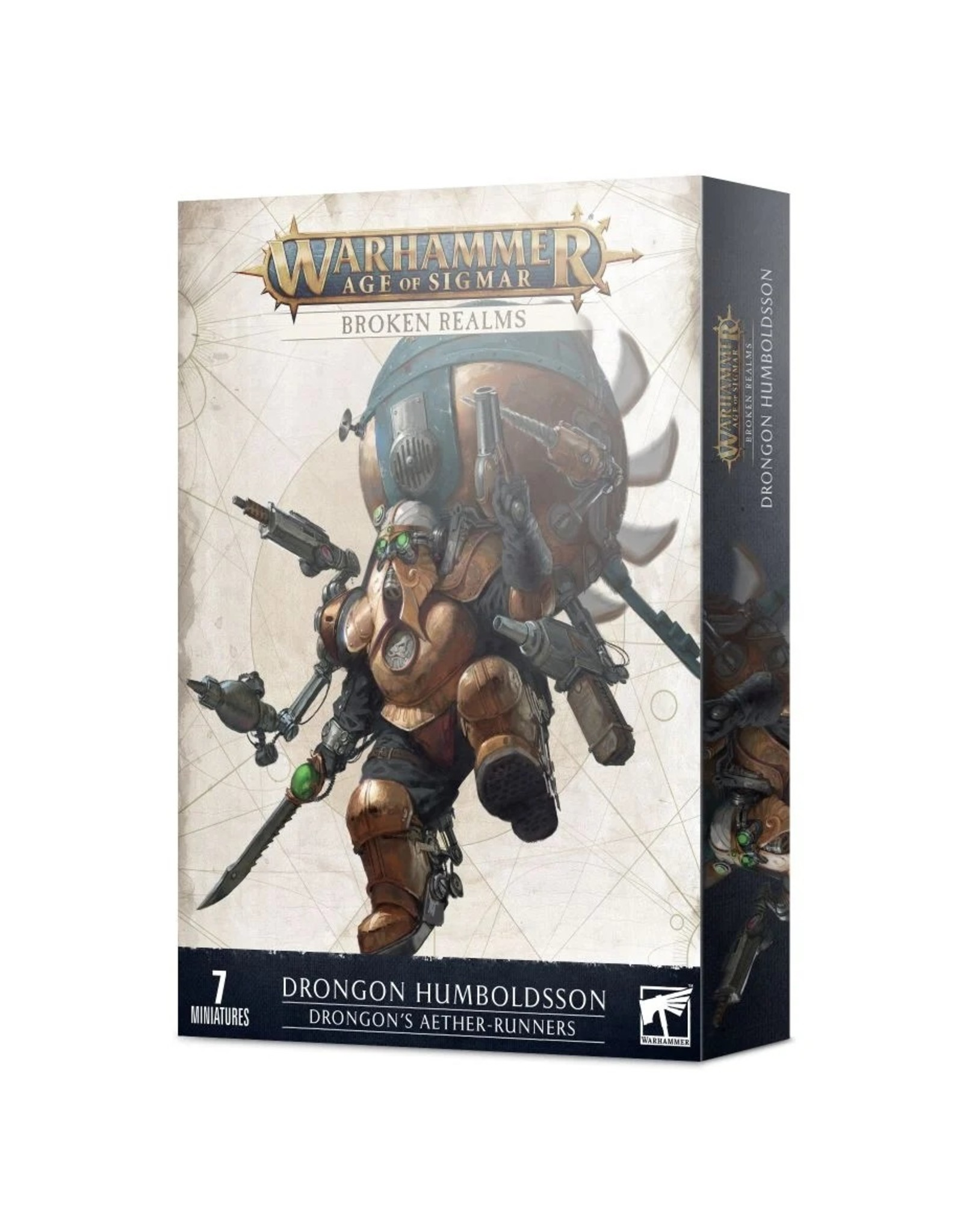Games Workshop Kharadron Overlords: Drongon's Aether-runners