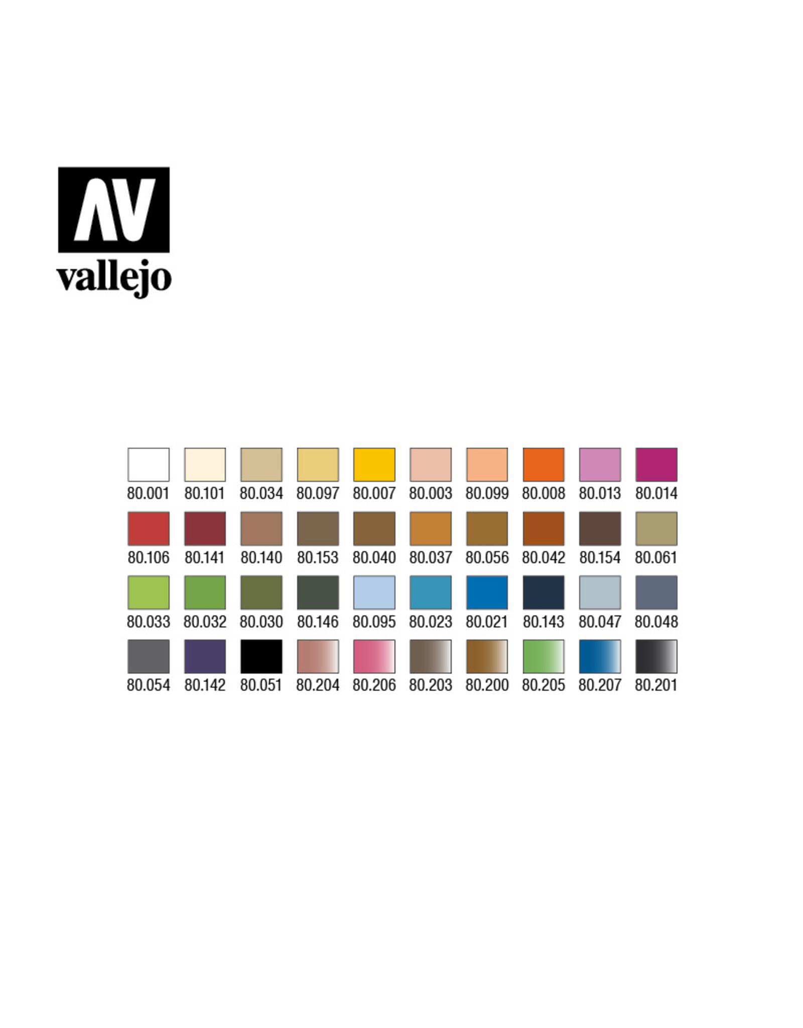 Vallejo WizKids by Vallejo Large Paint Cases