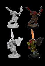 Wizkids Unpainted Dragonborn Characters