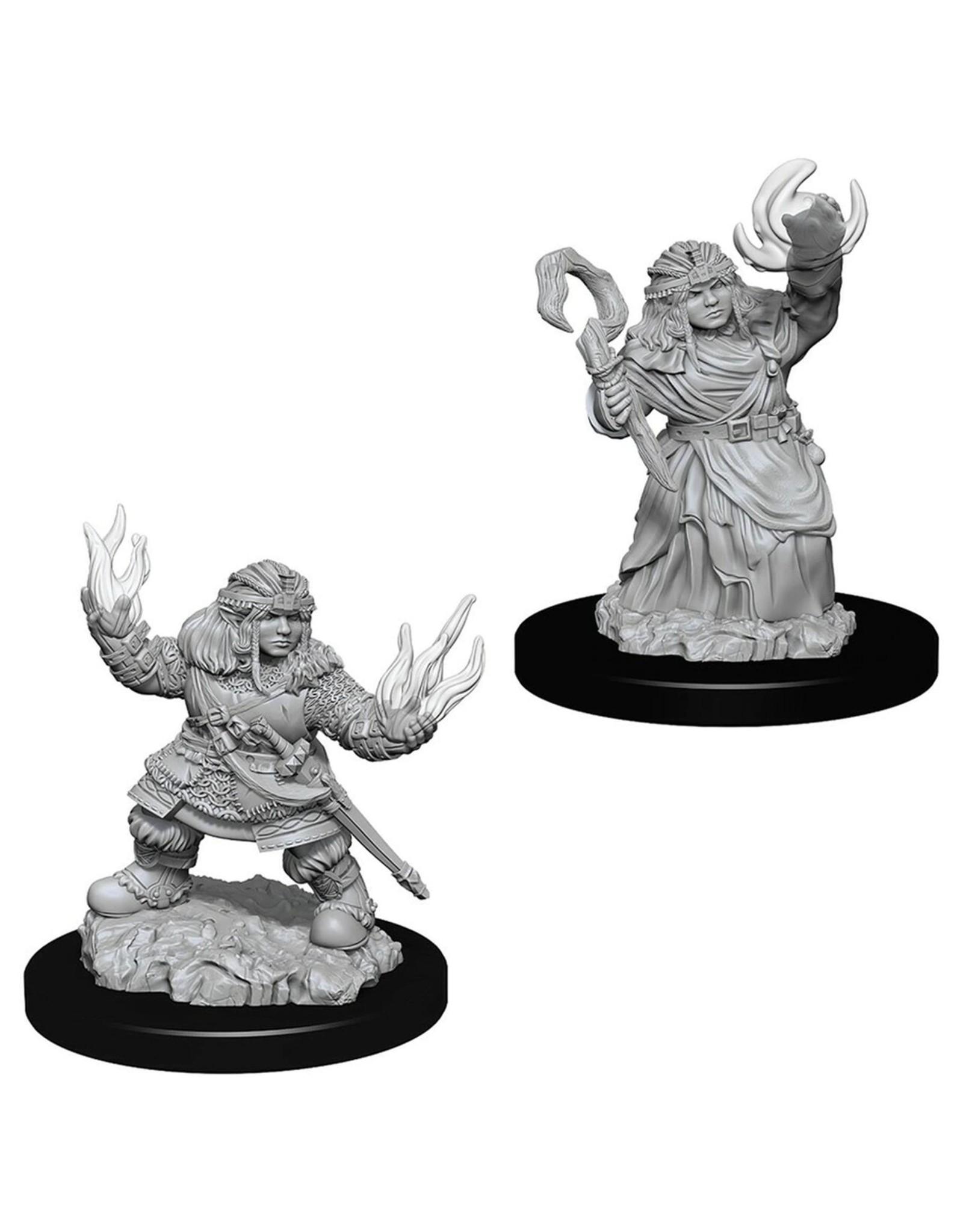 Wizkids Unpainted Dwarf Characters