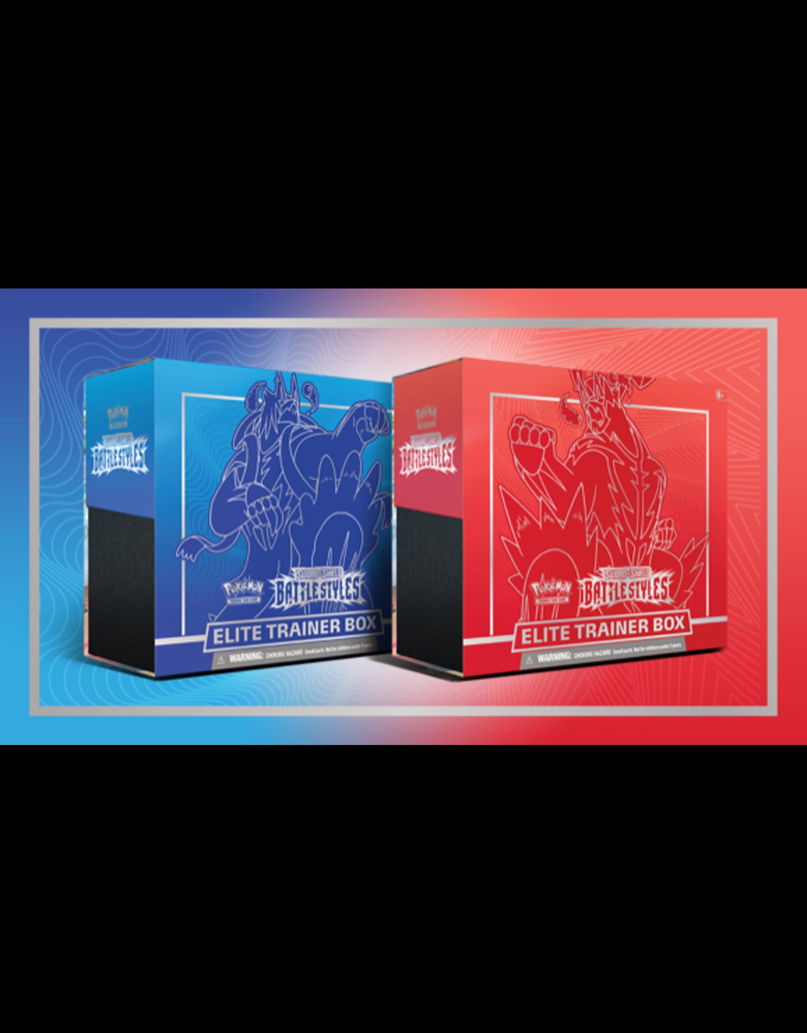 The Pokemon Company Pokemon: Battle Styles Elite Trainer Boxes