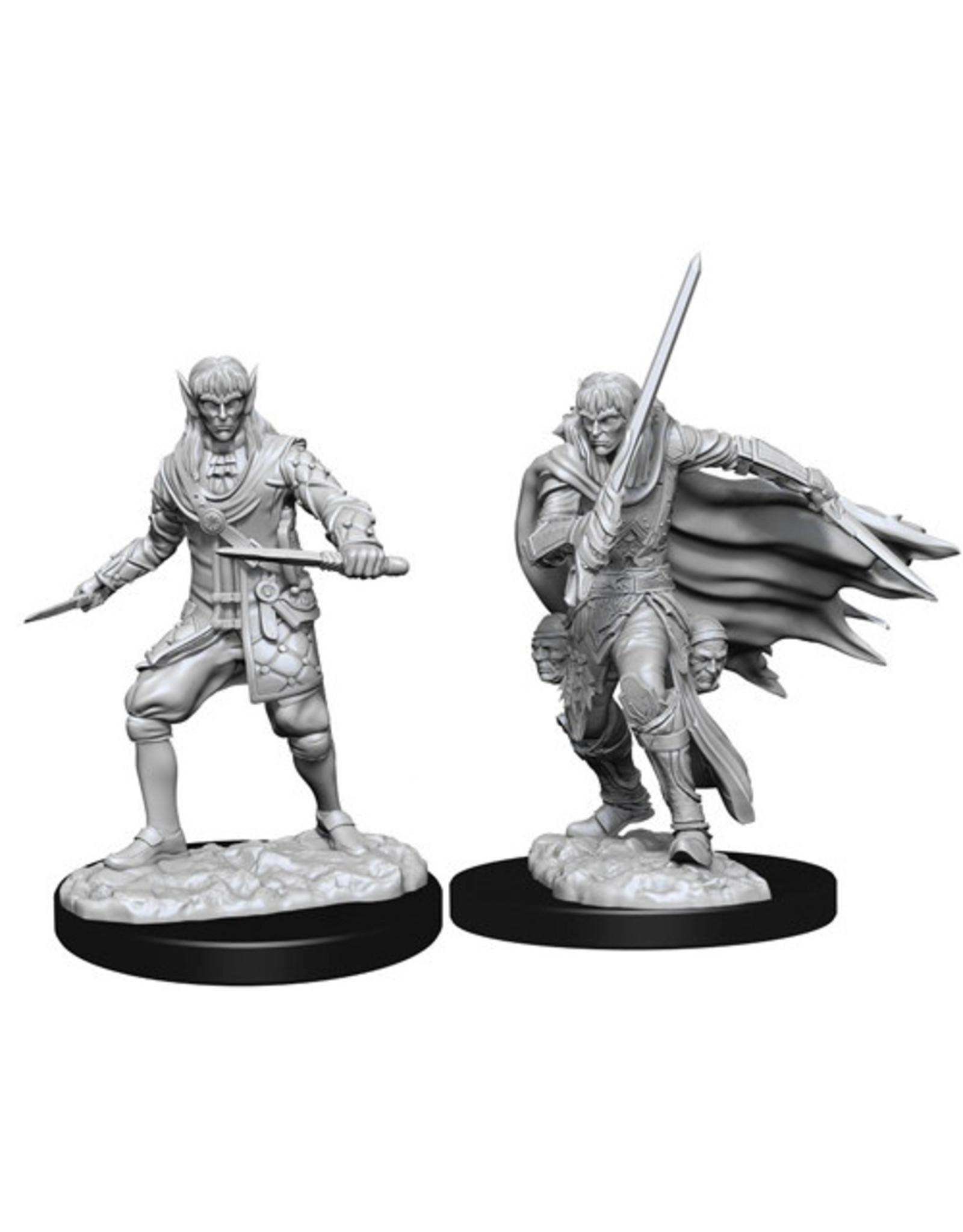 Wizkids Unpainted Elf Characters - Male Presenting