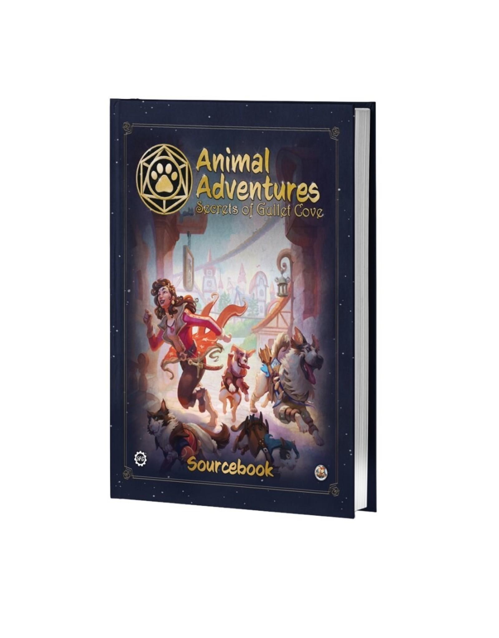 Steamforged Games LTD Animal Adventures: Secrets of Gullet Cove Sourcebook