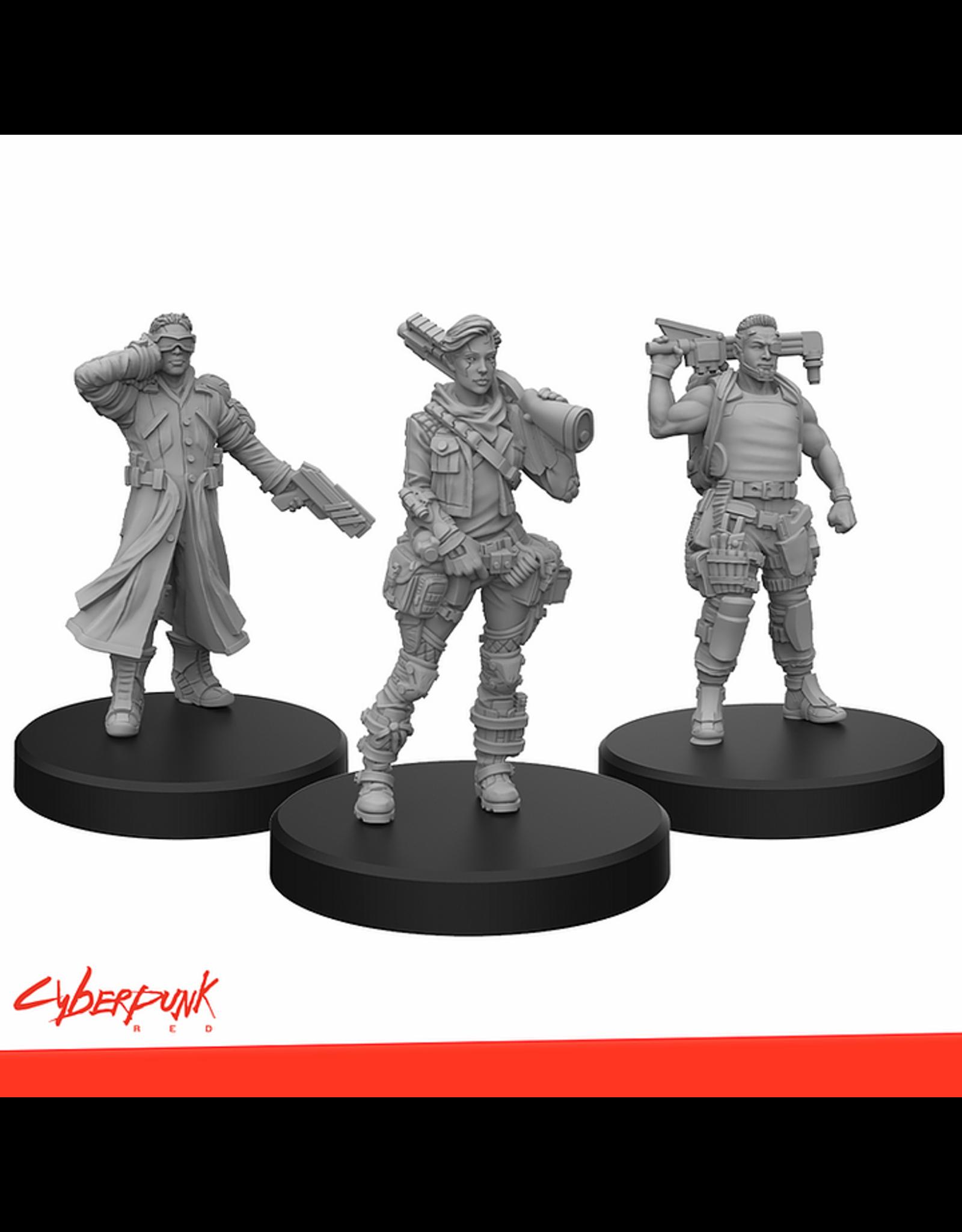 Monster Fight  Club Cyberpunk Red Miniatures: Edgerunners