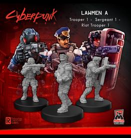 Monster Fight  Club Cyberpunk Red Miniatures: Lawmen