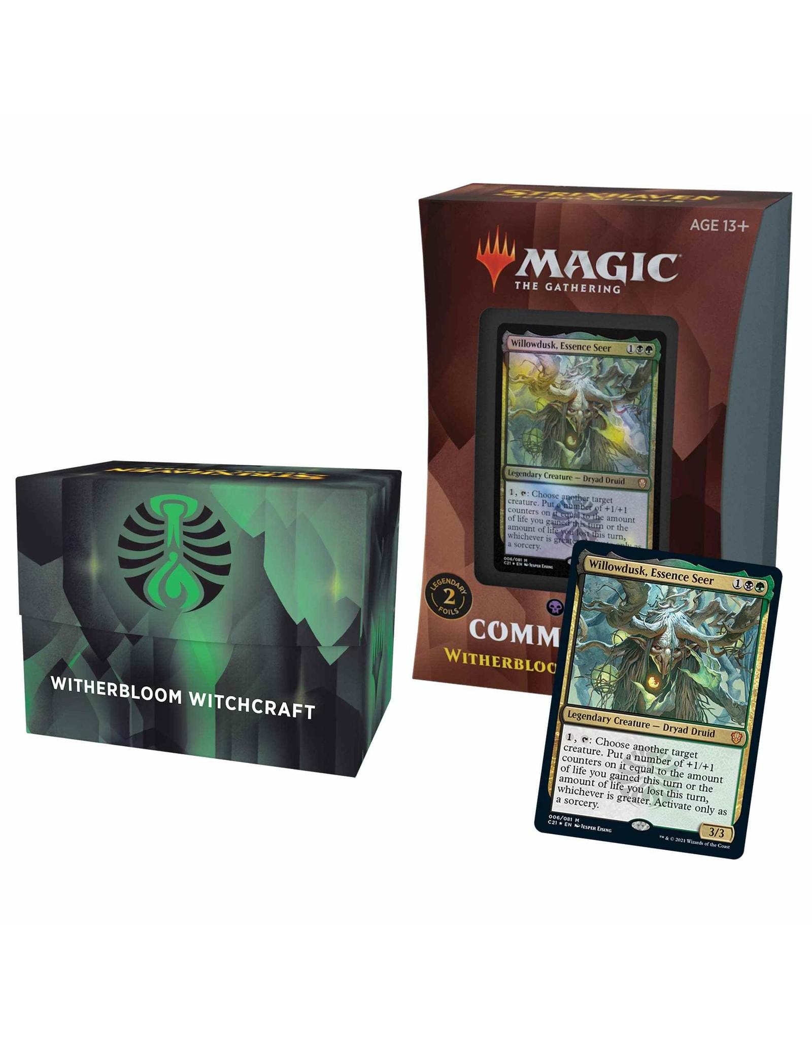 Wizards of the Coast MtG: Commander 2021 Decks