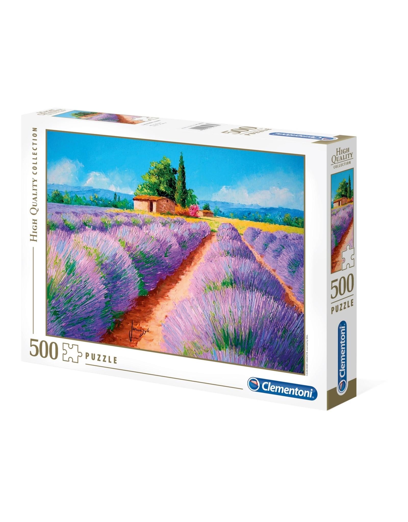 """Clementoni """"Lavender Scent"""" 500 Piece Puzzle"""