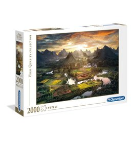 """Clementoni """"View of China"""" 2000 Piece Puzzle"""