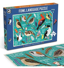 "Ginger Fox Games ""Fowl Language"" 1000 Piece Puzzle"