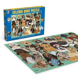 "Ginger Fox Games ""Celebri Dogs"" 1000 Piece Puzzle"
