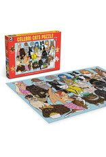 "Ginger Fox Games ""Celebri Cats"" 1000 Piece Puzzle"