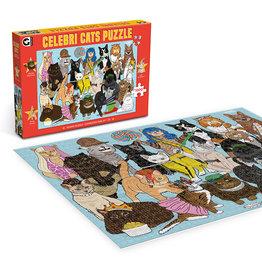 "Ginger Fox Games ""Celebri Cats"" 1000 Piece Puzzle"
