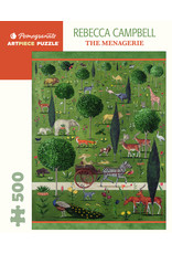 "Pomegranate ""The Menagerie"" 500 Piece Puzzle"