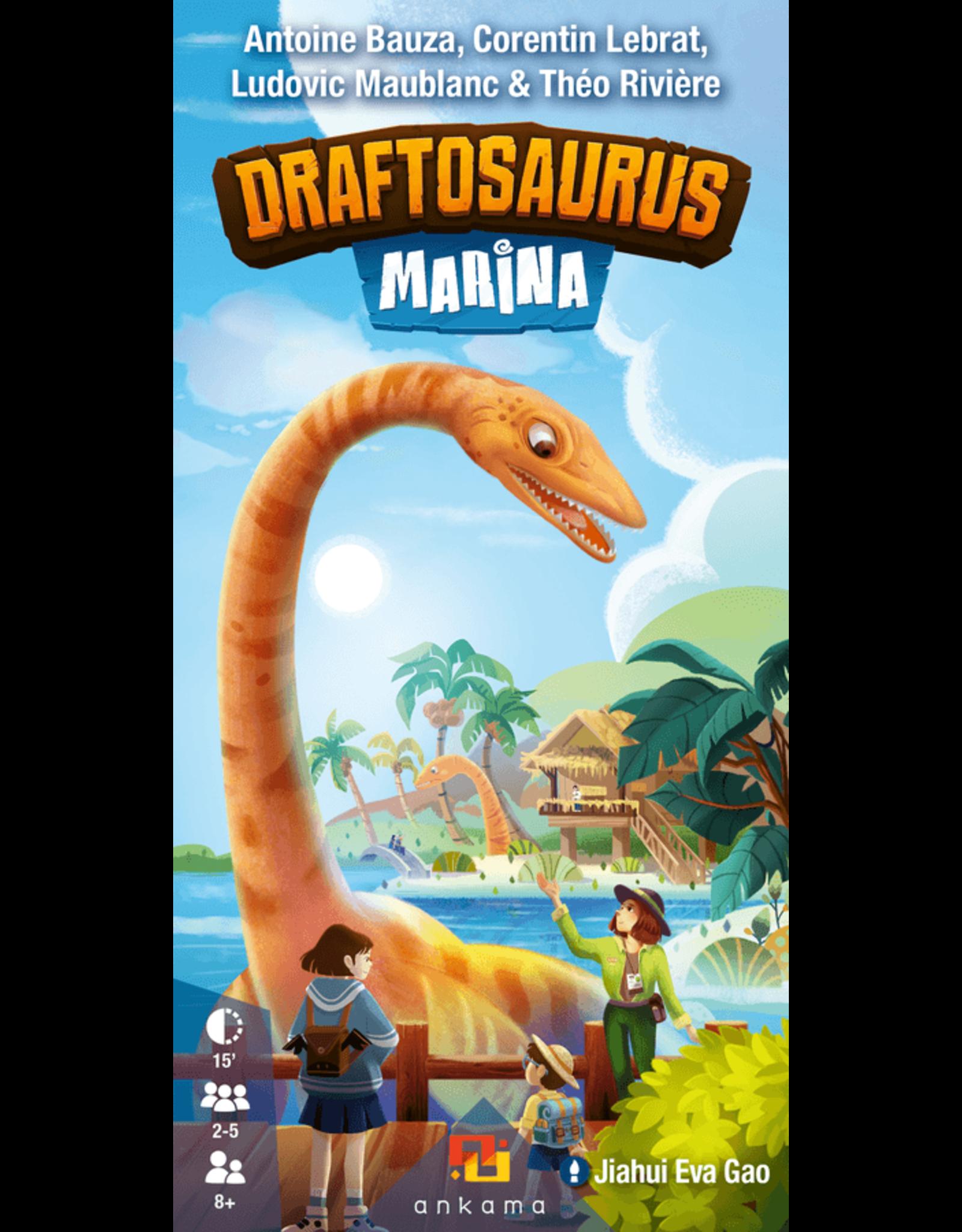 Ankama Draftosaurus: Marina Expansion