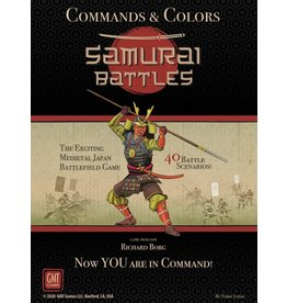 GMT Games Commands & Colors: Samurai Battles