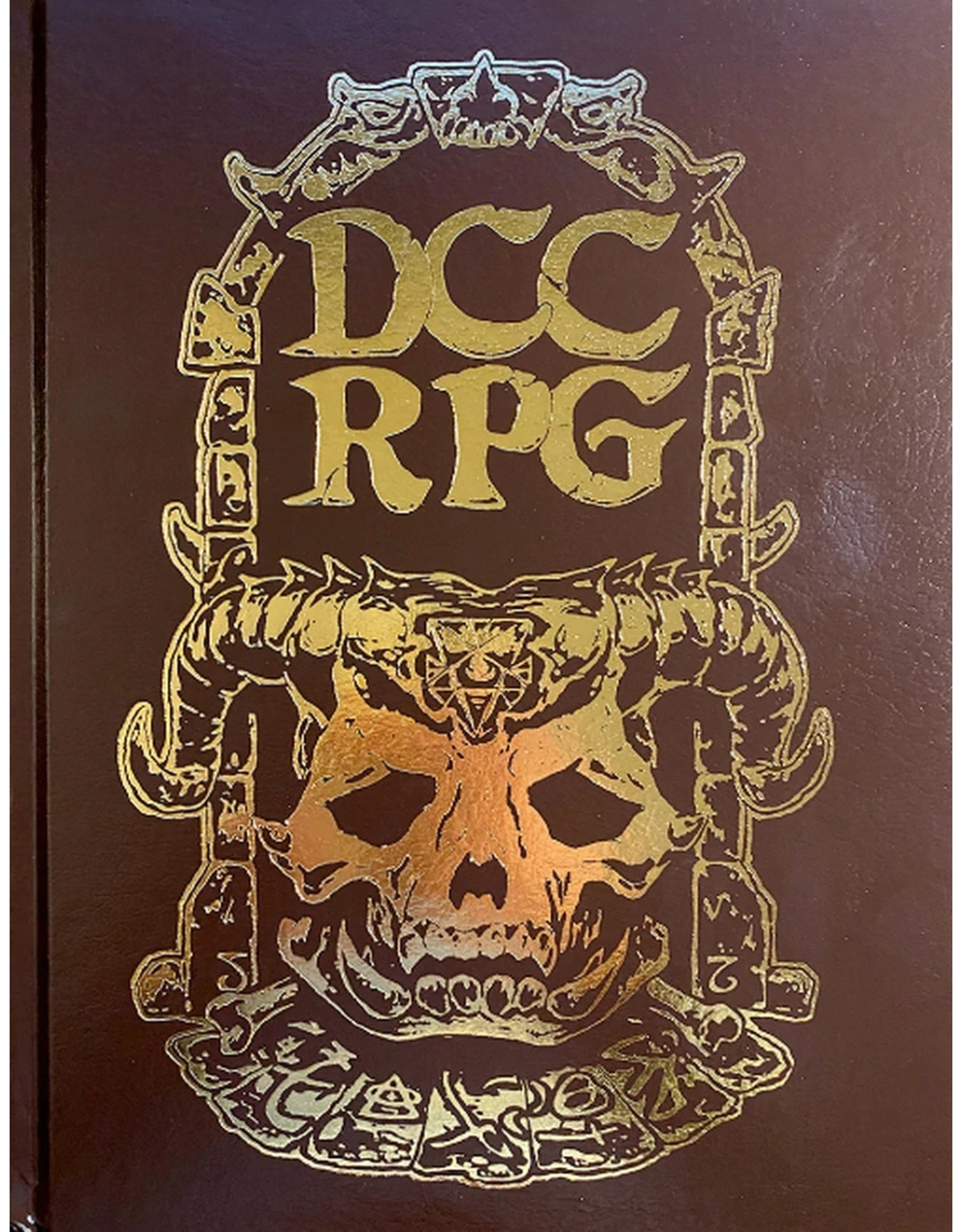 Goodman Games Dungeon Crawl Classics: Core Rulebook - Demon Skull Kickstarter Edition
