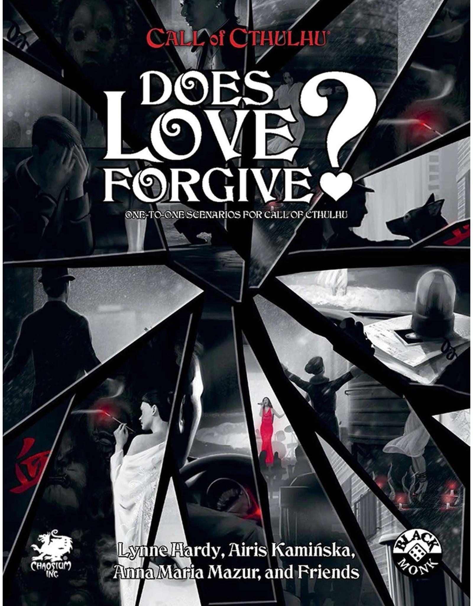 Chaosium Call of Cthulhu 7E: Does Love Forgive