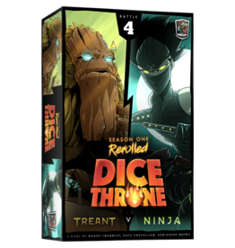 Roxley Games Dice Throne Season 1: Treant vs. Ninja