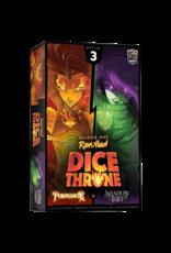 Roxley Games Dice Throne Season 1: Pyromancer vs. Shadow Thief